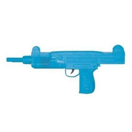 Uzi Sub Machine Pistol in Blue